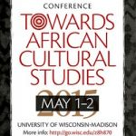 Poster for African Cultural Studies poster