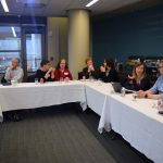 K12 instructors of French meeting for the inaugural Teacher Advisory Board