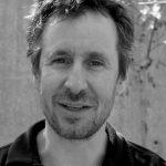 Black and white image of Gary Wilder